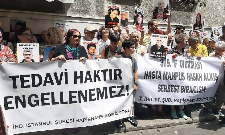 Sick prisoners in Turkey say they are denied treatment