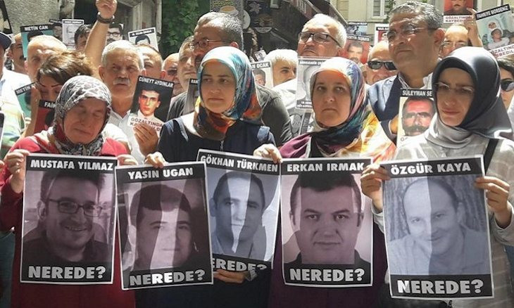 Human Rights Watch calls on Turkey to investigate claims of enforced disappearances