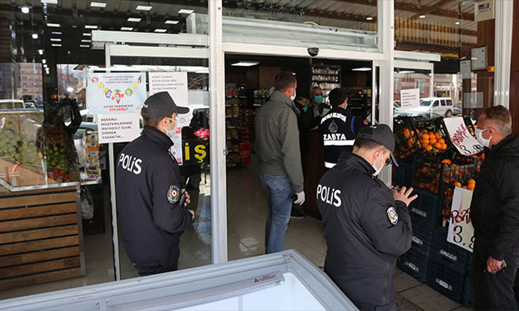 Turkey's law enforcement fines 1,183 businesses for violating COVID-19 prevention measures