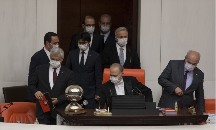 Turkish parliament closes for six weeks amid virus threat
