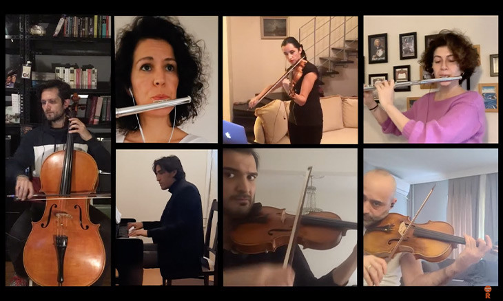 Turkish musicians 'take the stage' from home to mark World Art Day amid coronavirus pandemic