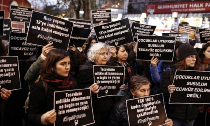 AKP proposes to grant amnesty to child abusers who wed victims
