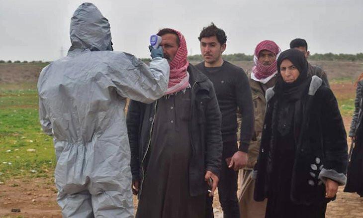 KRG sends coronavirus test kits to Syrian Kurds