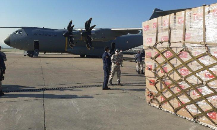 US thanks Turkey for coronavirus medical supply donation