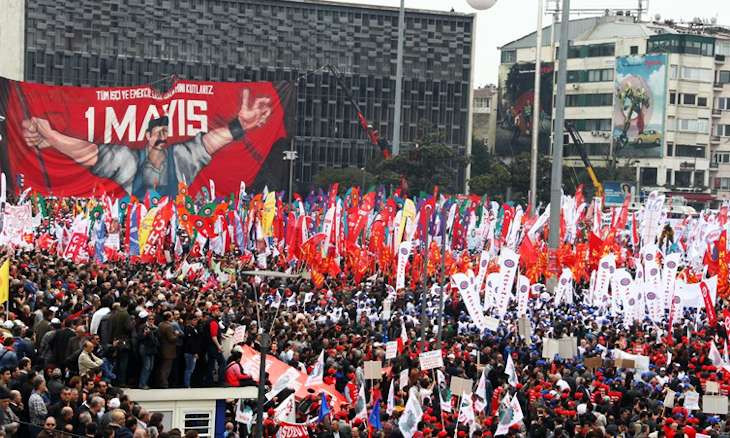 Unions to celebrate May Day on social media, symbolic commemoration to be held in Taksim