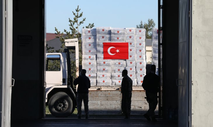 Turkey 'supplies medical equipment to Israel to help with fight against coronavirus'