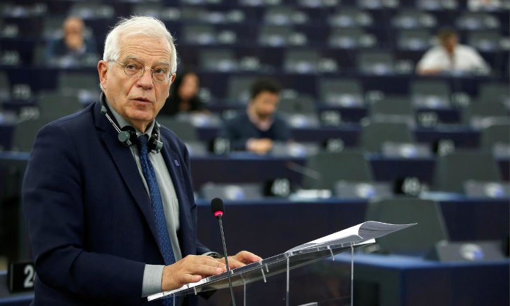 EU's top diplomat criticizes Ankara for undermining local democracy after dismissal of more HDP mayors
