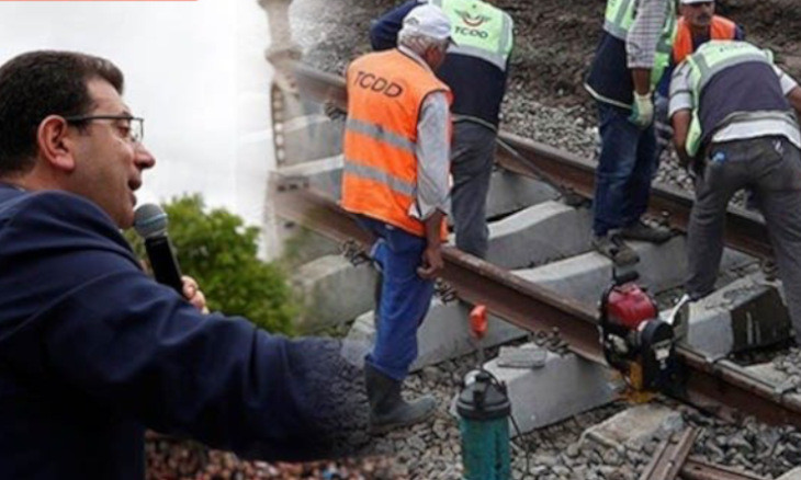 'AKP government taking revenge against railroad workers for Istanbul election victory'
