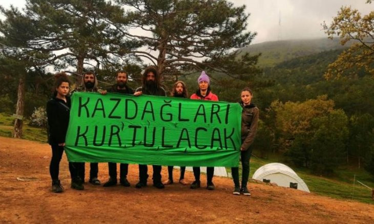 Environmentalists protesting Kaz mountains mine imposed a fine of $8,000
