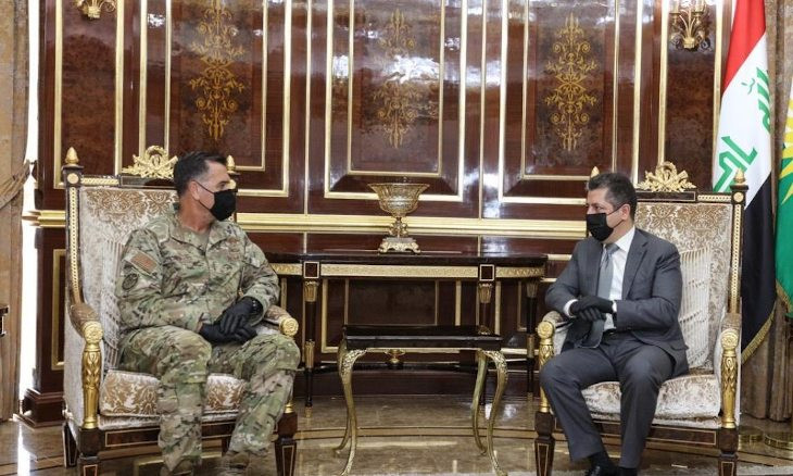 KRG President, PM meet US general to discuss recent increase in ISIS attacks