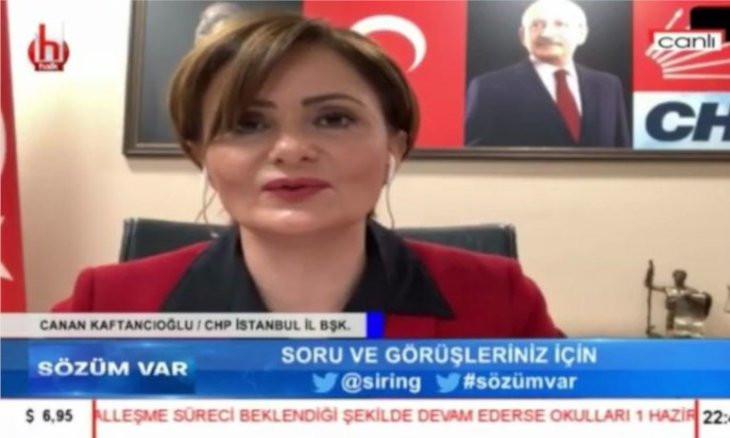 Turkey's media watchdog fines Halk TV over CHP Istanbul chair Kaftancıoğlu's remarks