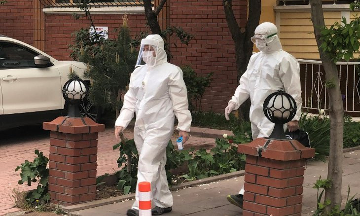 Turkey's coronavirus death toll rises by 30 to 4,461, with 1,182 new cases