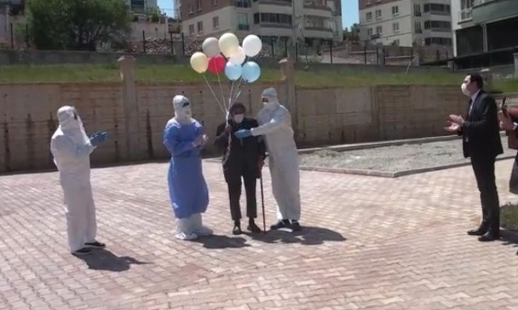 101-year-old Turkish man beats coronavirus