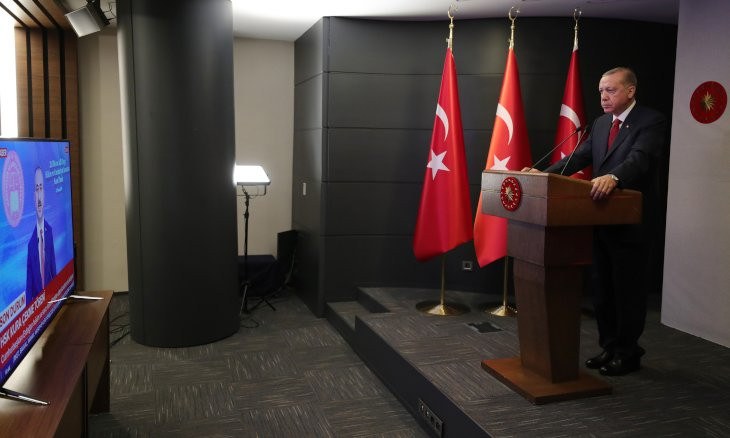 Erdoğan calls on newly appointed judges, prosecutors 'not to surrender to any power'