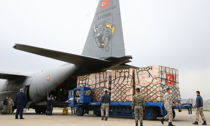 FEMA thanks Turkey for sending coronavirus donation