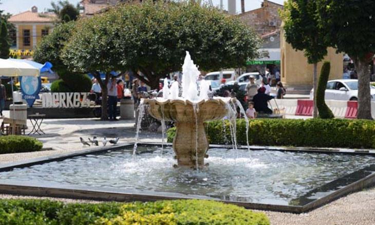 Northern Turkey municipality spends nearly 6 million liras on decorative fountains