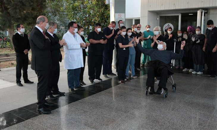 The last hospitalized COVID-19 patient of Northern Cyprus discharged