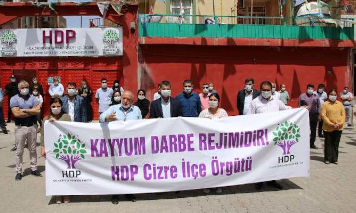 HDP's dismissed Iğdır mayor arrested as party stages protests against gov't crackdown