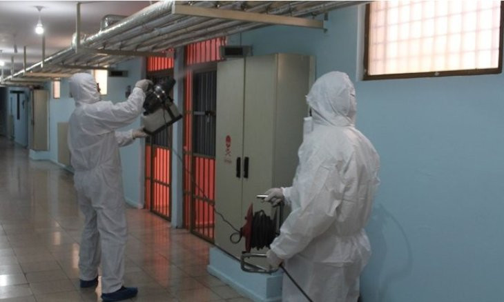 Coronavirus is spreading fast in Turkish jails, report warns