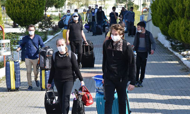 Travelers returning to Turkey no longer to be quarantined in public dormitories