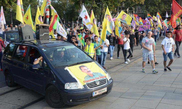 Turkey, Austria in row over Kurdish protests in Vienna