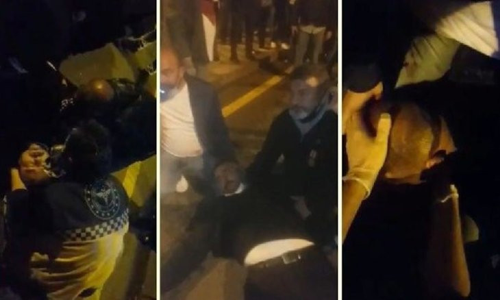 Police wound 2 in coup survivors' protest in front of AKP HQ, interior minister backs protesters