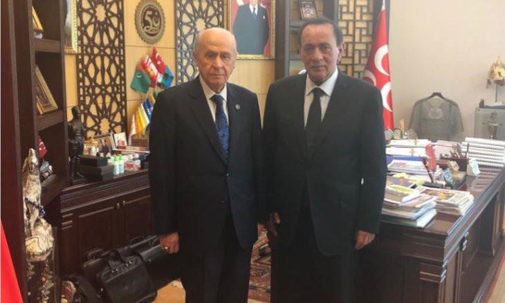 Notorious mafia leader Çakıcı visits MHP leader Bahçeli after being released from prison