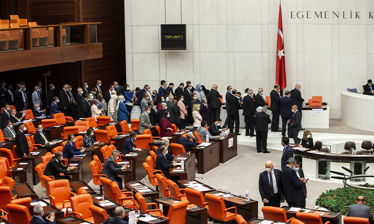 Turkish parliament to not be quarantined despite COVID-19 positive case