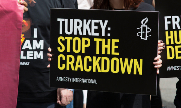 Turkey using COVID-19 as an excuse to stifle freedom of expression: Amnesty International