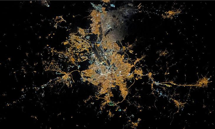 NASA likens Ankara's roads to arteries in 'photo of the day'