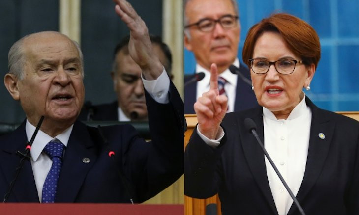 Poll shows İYİ Party would rank third in elections, replacing gov't ally MHP