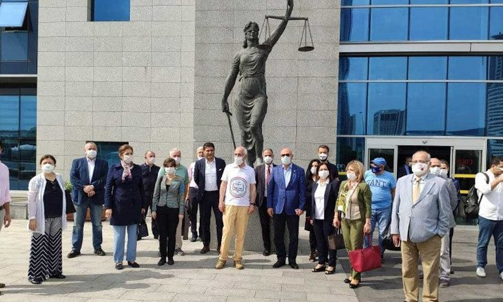 Bar associations begin Defense March to Ankara to protest government's increasing pressure