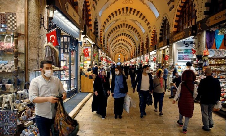 IMF forecasts 5 pct GDP contraction for Turkey