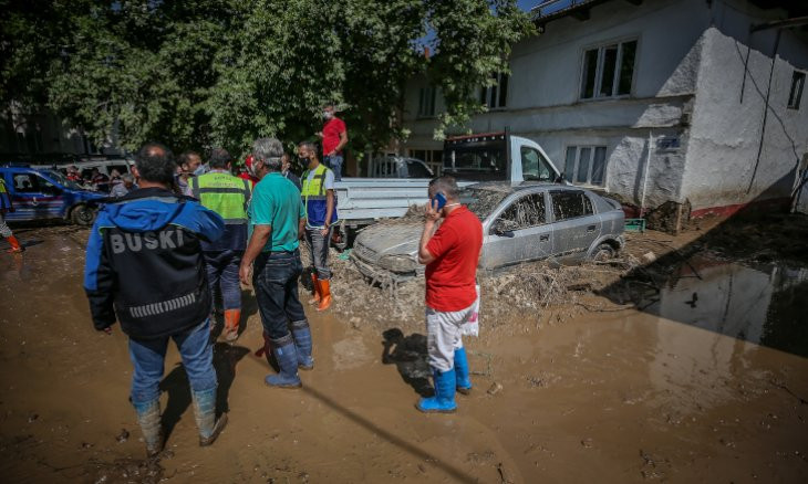 Erdoğan once again explains citizens' deaths by 'destiny' as floods take five lives in Bursa