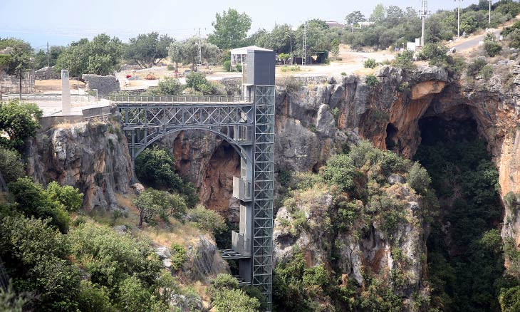Eastern Turkey caves get lift to 'Heaven,' viewing dock for 'Hell'