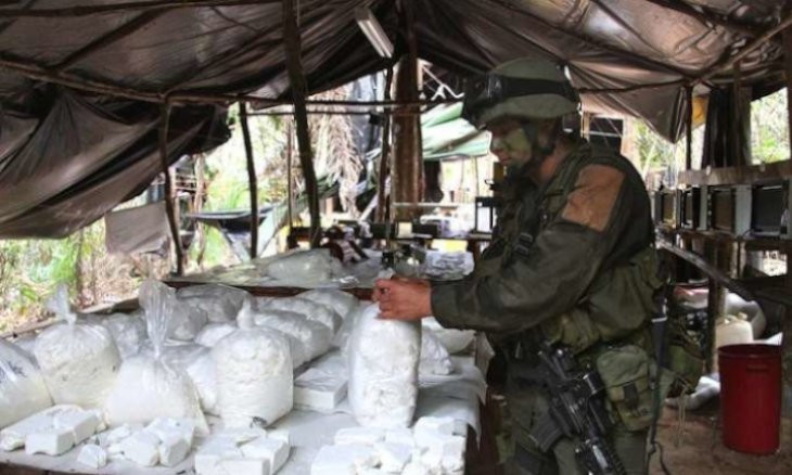 Colombian police seize 5 tons of cocaine headed for Turkey
