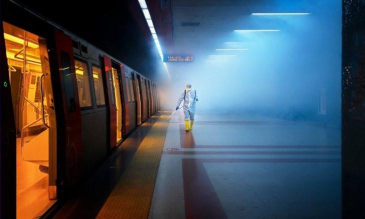 Turkish photographer's Ankara subway photo featured on National Geographic platform