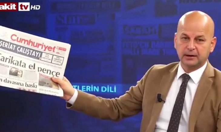 Five-year sentence sought for Islamist pundit who called for bombing of daily Cumhuriyet