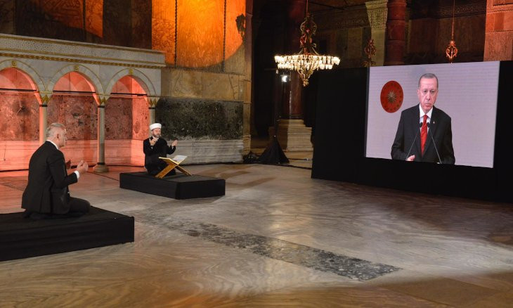 Erdoğan slams description of Istanbul's conquest as 'occupation' a week after minister calls it as such