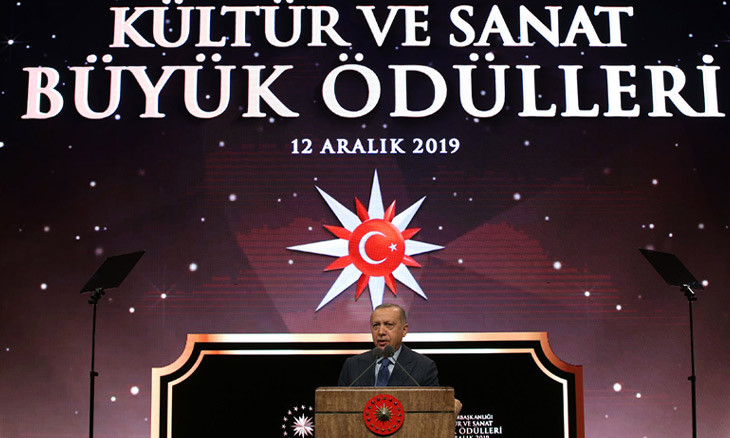 Winners of Turkey's presidential arts awards to be picked by president himself