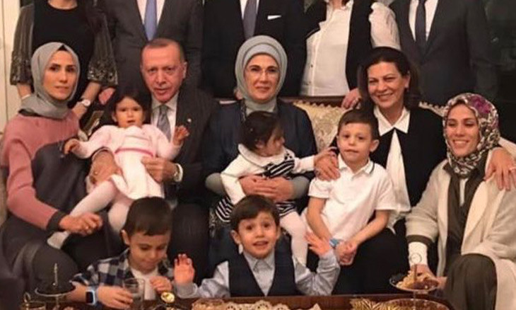 President Erdoğan welcomes new grandchild as finance minister becomes father of four