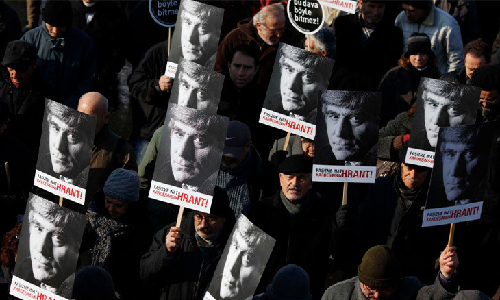 Suspect faces up to 26 years in jail for threatening Hrant Dink foundation