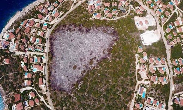 Zoning project approved for protected area in Mediterranean district of Kaş following huge fire