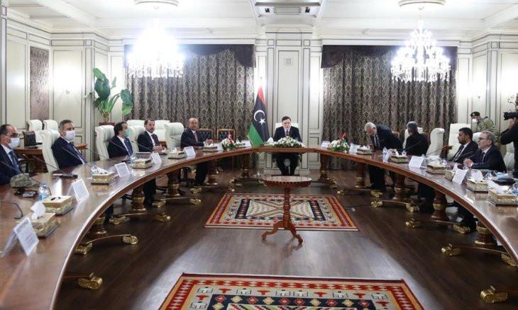 Top Turkish officials visit Libya, meet with GNA officials