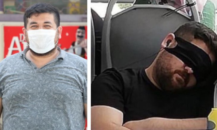 Turkish health minister phones man whose photo became a symbol of wrong use of masks