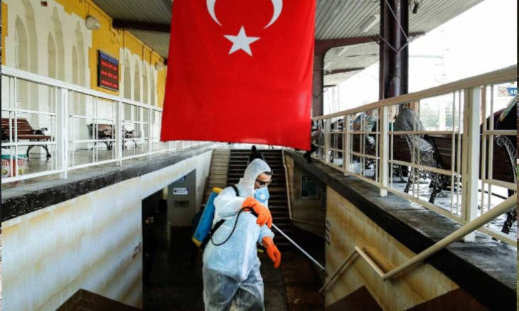 Turkey's coronavirus death toll rises by 19, with 1,396 new cases