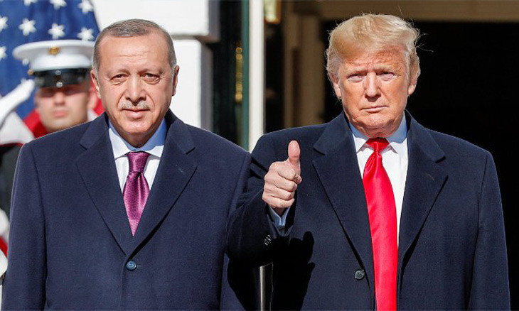 Erdoğan used Trump's  foreign policy inexperience to launch offensive in northern Syria: US sources