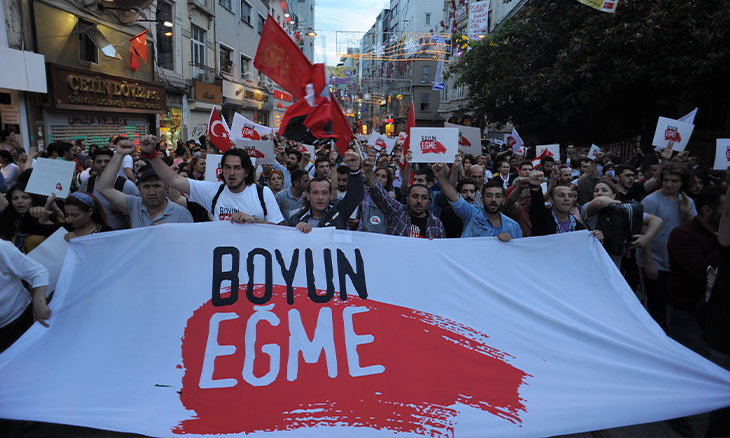 Turkish main opposition leader releases message of solidarity on 7th anniversary of Gezi Protests