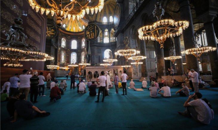 Syria to build 'alternative' Hagia Sophia church with Russia's support