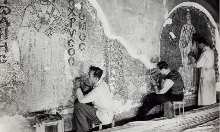 The American who restored Hagia Sophia's mosaics